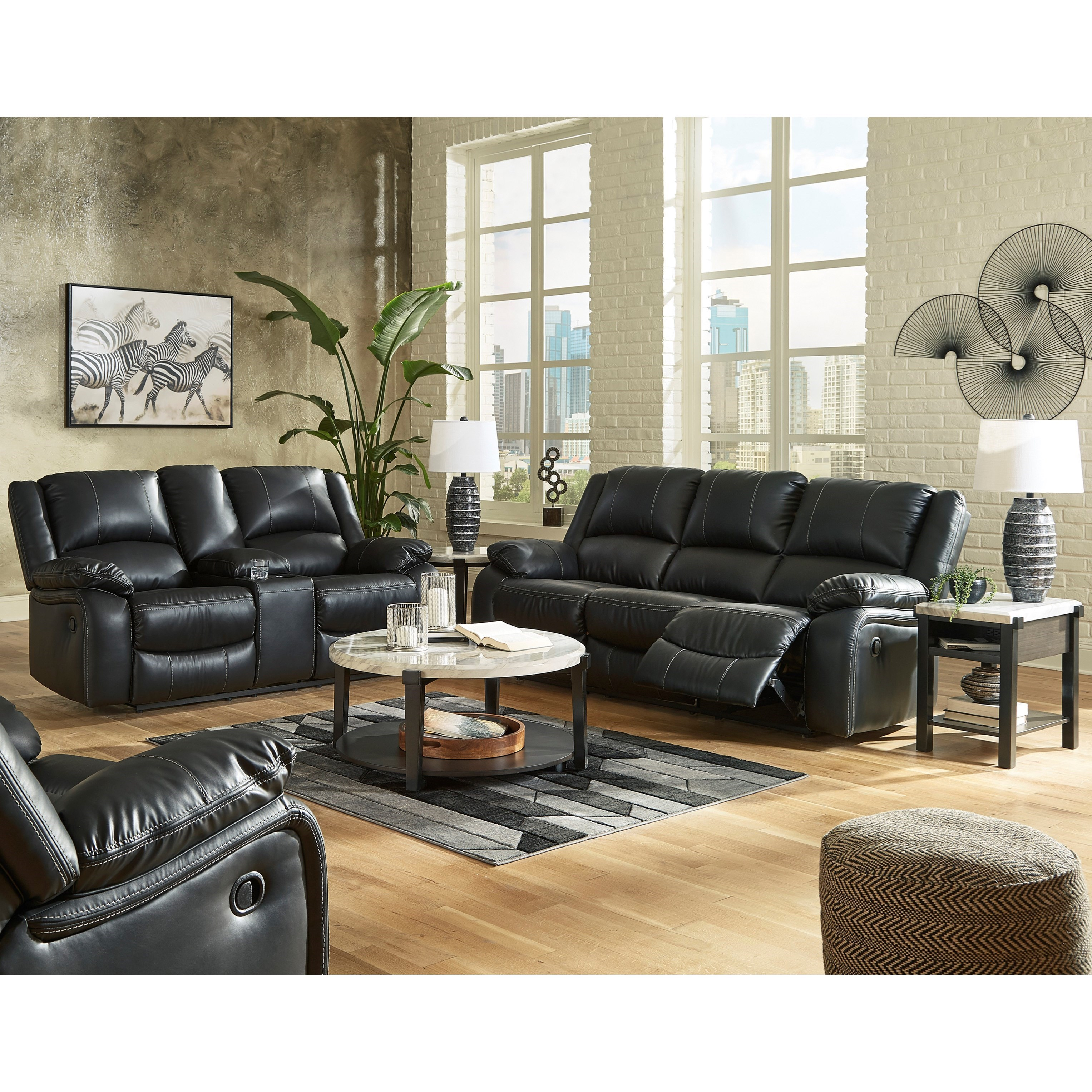 Calderwell Reclining Living Room Group by Signature Design by Ashley at Northeast Factory Direct