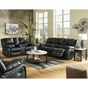 Signature Design by Ashley Calderwell Power Reclining Living Room Group - Item Number: 77101 Living Room Group 4