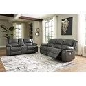 Signature Design by Ashley Calderwell Power Reclining Living Room Group - Item Number: 77103 Living Room Group 2