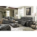 Signature Design by Ashley Calderwell Reclining Living Room Group - Item Number: 77103 Living Room Group 3