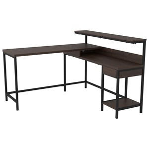 L-Desk with Storage