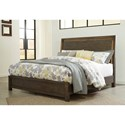 Signature Design by Ashley Camilone King Panel Bed with LED Back Lights