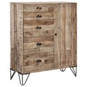 Signature Design by Ashley Camp Ridge Accent Cabinet - Item Number: A4000011