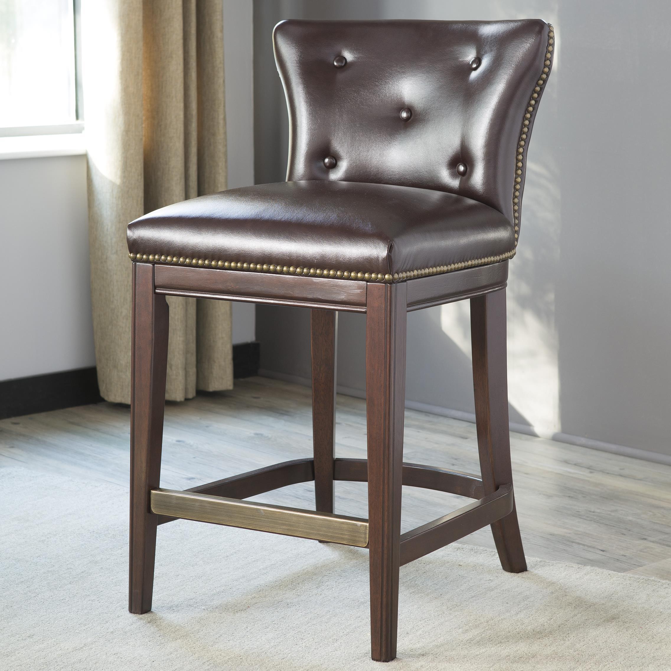 Signature Design by Ashley Canidelli Upholstered Barstool - Item Number: D500-324