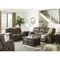 Signature Design by Ashley Cannelton Reclining Living Room Group - Item Number: 18303 Living Room Group