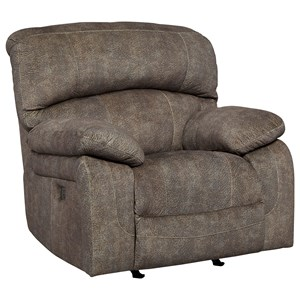 Ashley Signature Design Cannelton Power Recliner with Adjustable Headrest
