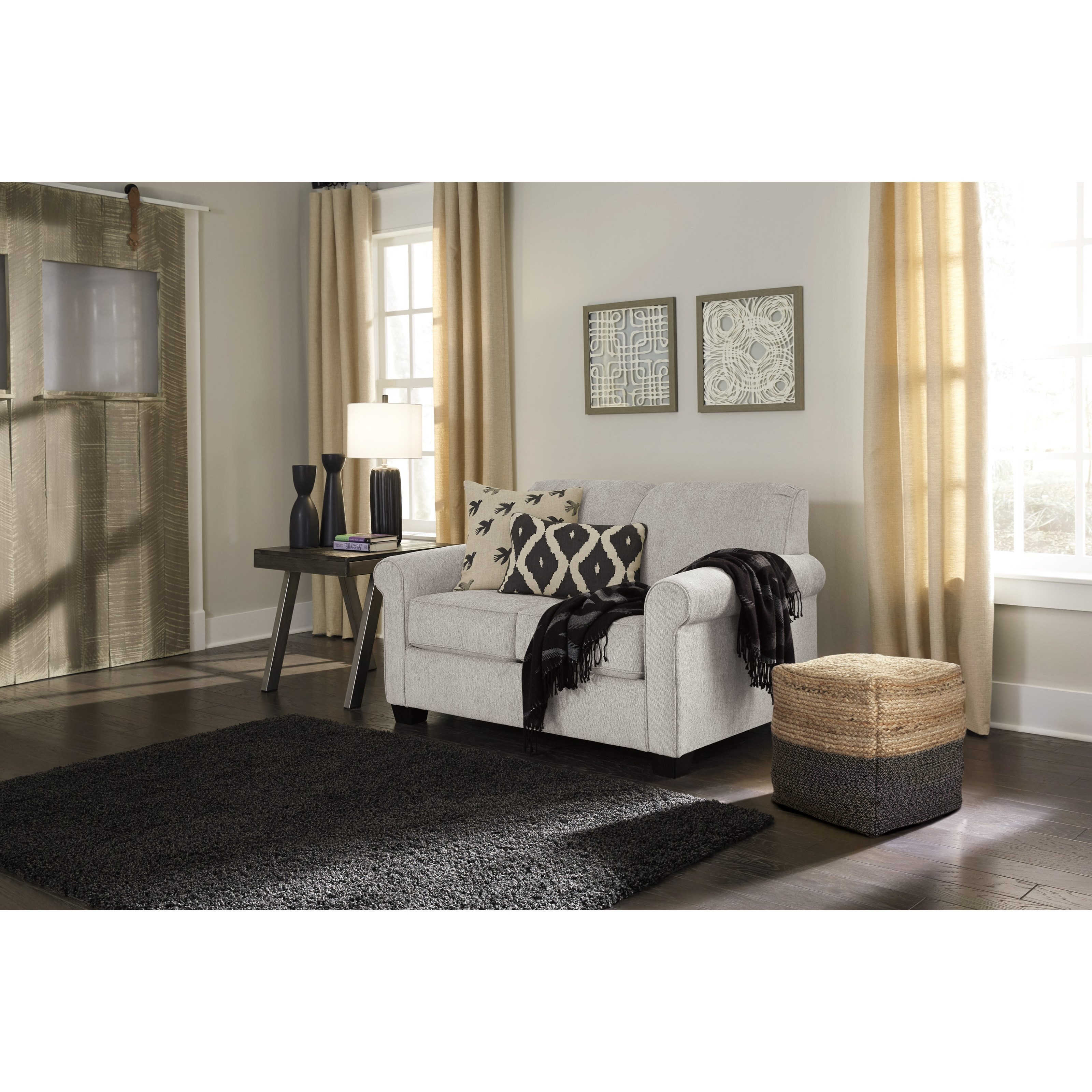 Signature Design By Ashley Cansler Twin Sleeper Sofa With