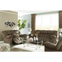 Signature Design by Ashley Capehorn Casual Contemporary Rocker Recliner
