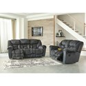 Signature Design by Ashley Capehorn Reclining Living Room Group - Item Number: 76902 Living Room Group 1