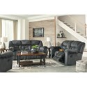 Signature Design by Ashley Capehorn Reclining Living Room Group - Item Number: 76902 Living Room Group 2