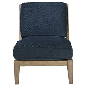 Signature Design by Ashley Furniture Carlino Mile - Mineral Accent Chair
