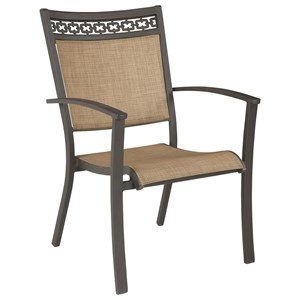 Ashley Signature Design Carmadelia Set of 4 Outdoor Sling Chairs