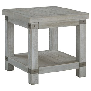 Signature Design by Ashley Carynhurst Rectangular End Table