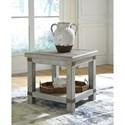 Signature Design by Ashley Carynhurst Industrial Rectangular End Table