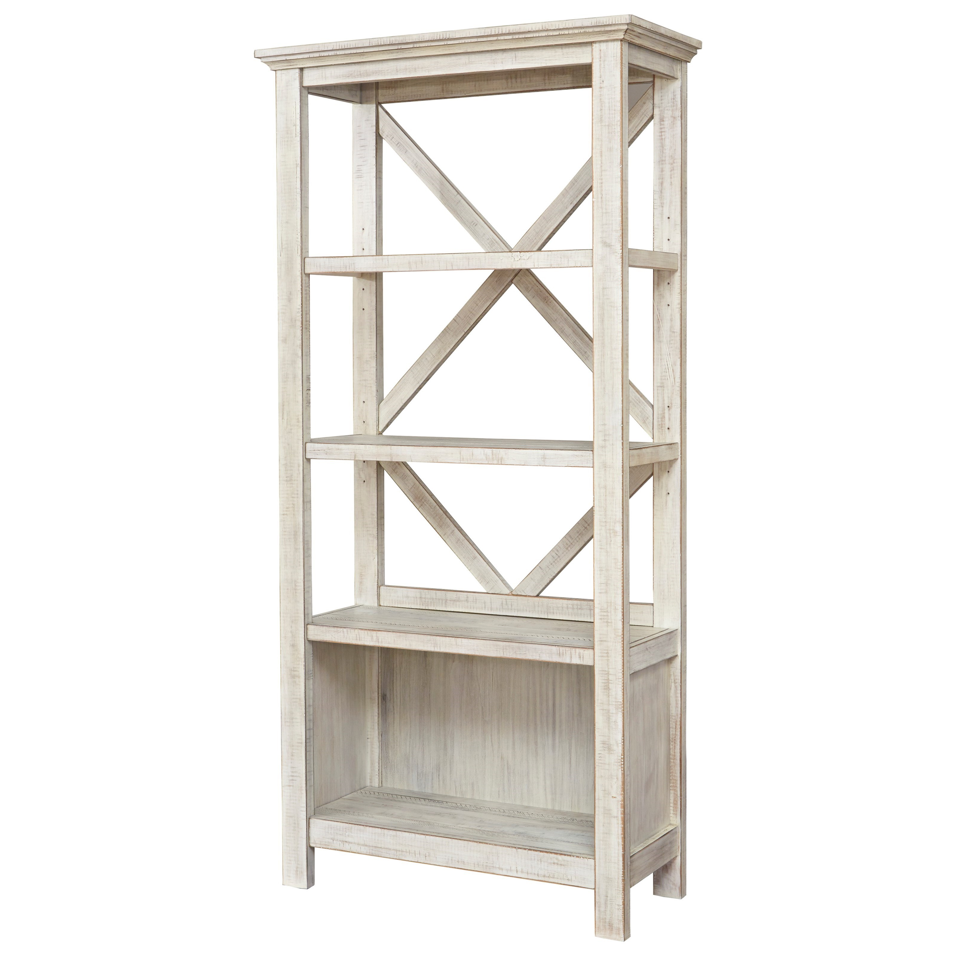 Carynhurst Large Bookcase by Signature Design by Ashley at Beck's Furniture