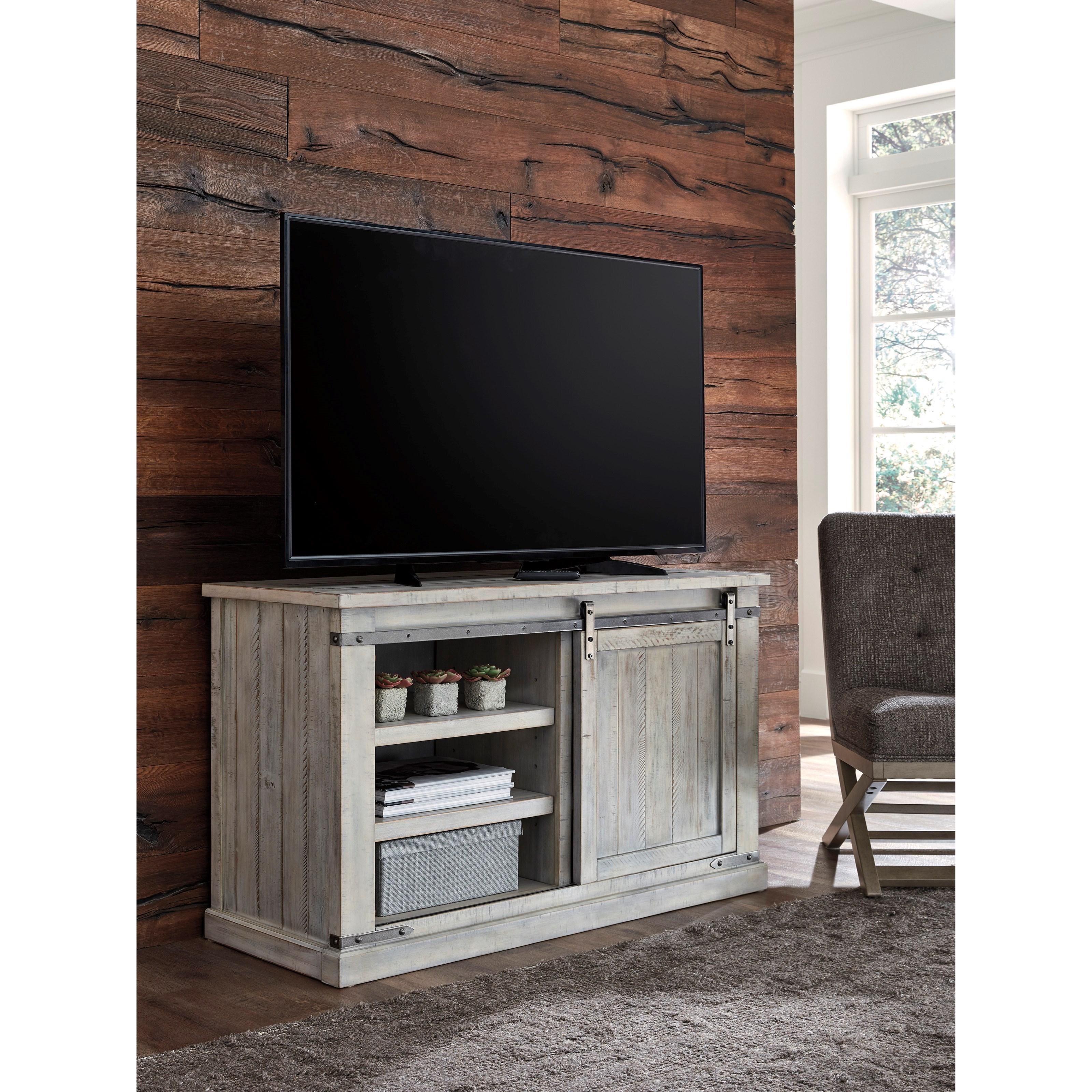 Ashley Furniture Cary Nc: Signature Design By Ashley Carynhurst W755-28 Rustic White
