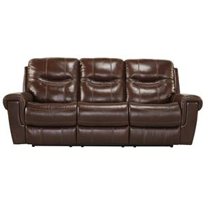 Signature Design by Ashley Casscoe Reclining Power Sofa