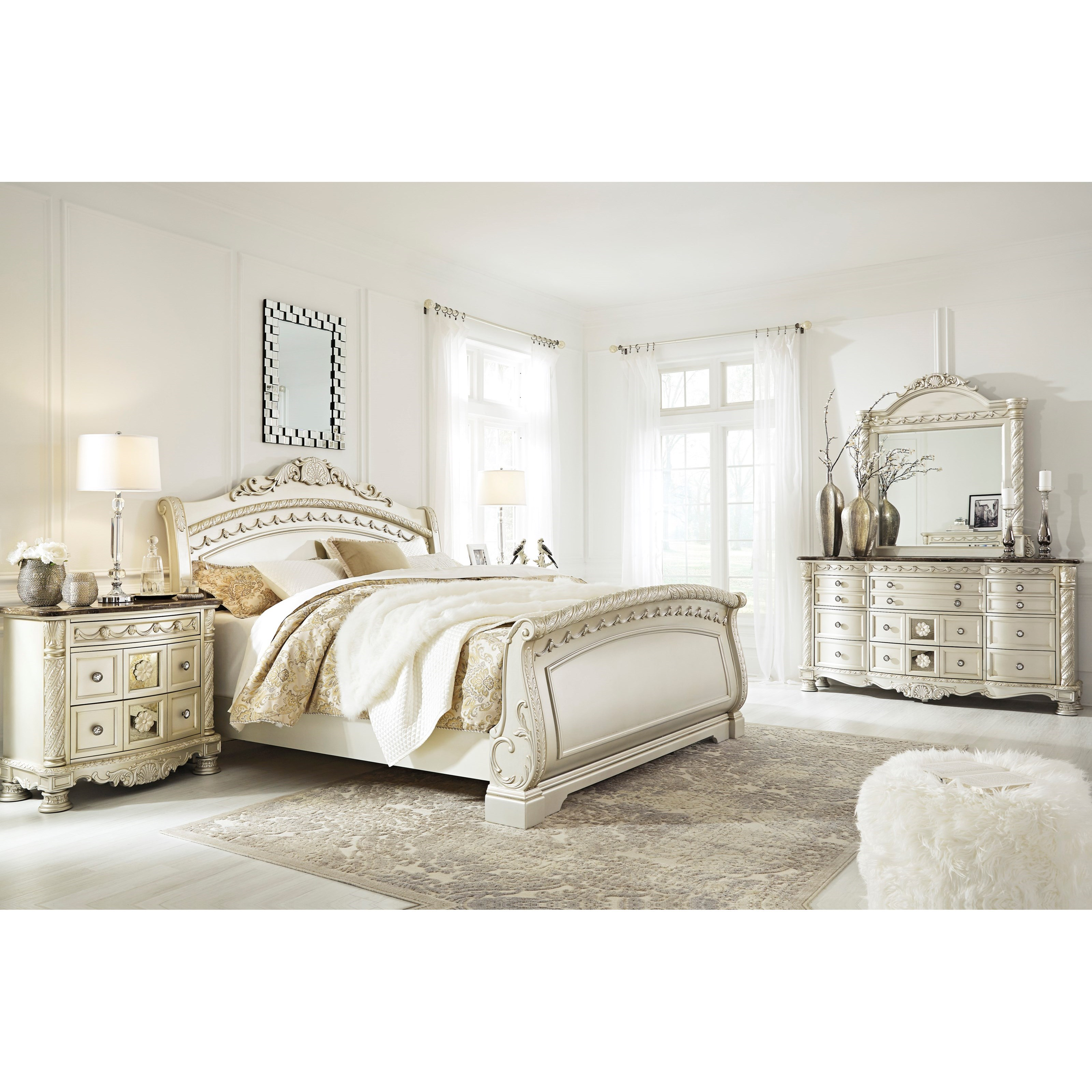 Signature Design by Ashley Cassimore Queen Bedroom Group - Item Number: B750 Q Bedroom Group 2