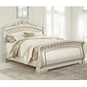 Signature Design by Ashley Cassimore Queen Sleigh Bed - Item Number: B750-177+174+175