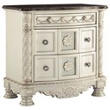 Signature Design by Ashley Cassimore Three Drawer Night Stand - Item Number: B750-93