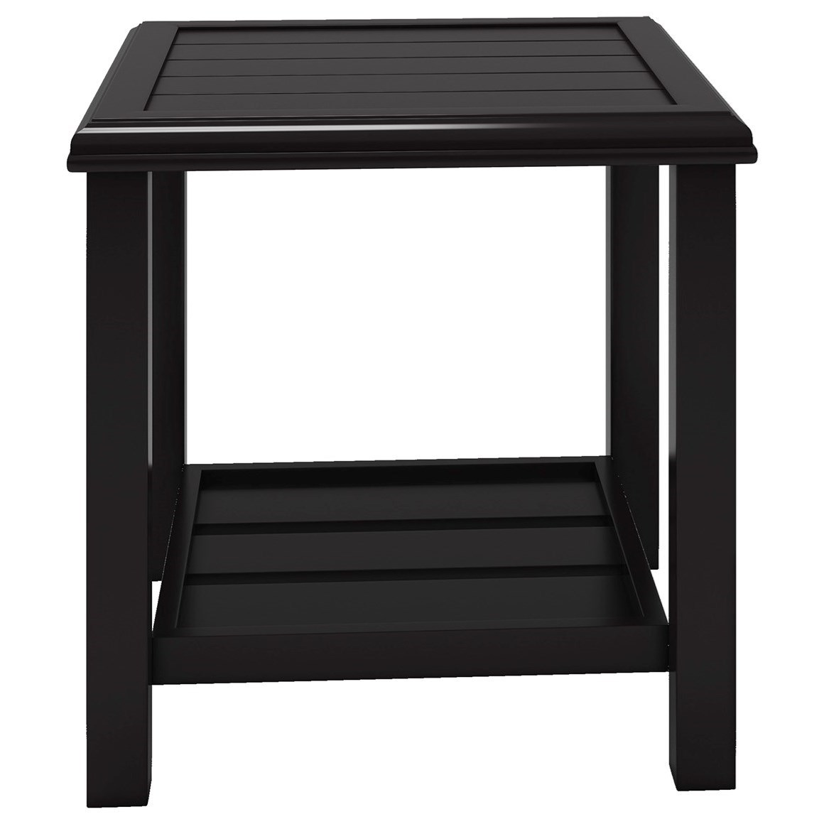 Signature Design by Ashley Castle Island Square End Table - Item Number: P414-702
