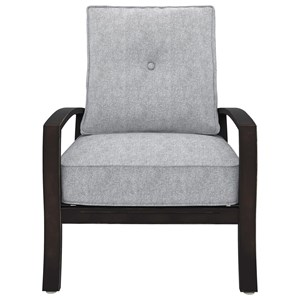Signature Design by Ashley Castle Island Lounge Chair with Cushion