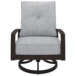Signature Design by Ashley Castle Island Swivel Lounge Chair
