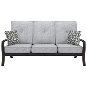 Signature Design by Ashley Castle Island Sofa with Cushion
