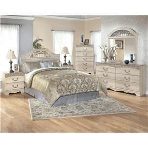 Signature Design by Ashley Furniture Catalina Queen Bedroom Group