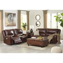 Signature Design by Ashley Catanzaro Reclining Living Room Group - Item Number: U83004 Living Room Group 1