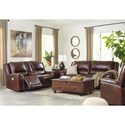 Ashley (Signature Design) Catanzaro Reclining Living Room Group - Item Number: U83004 Living Room Group 2