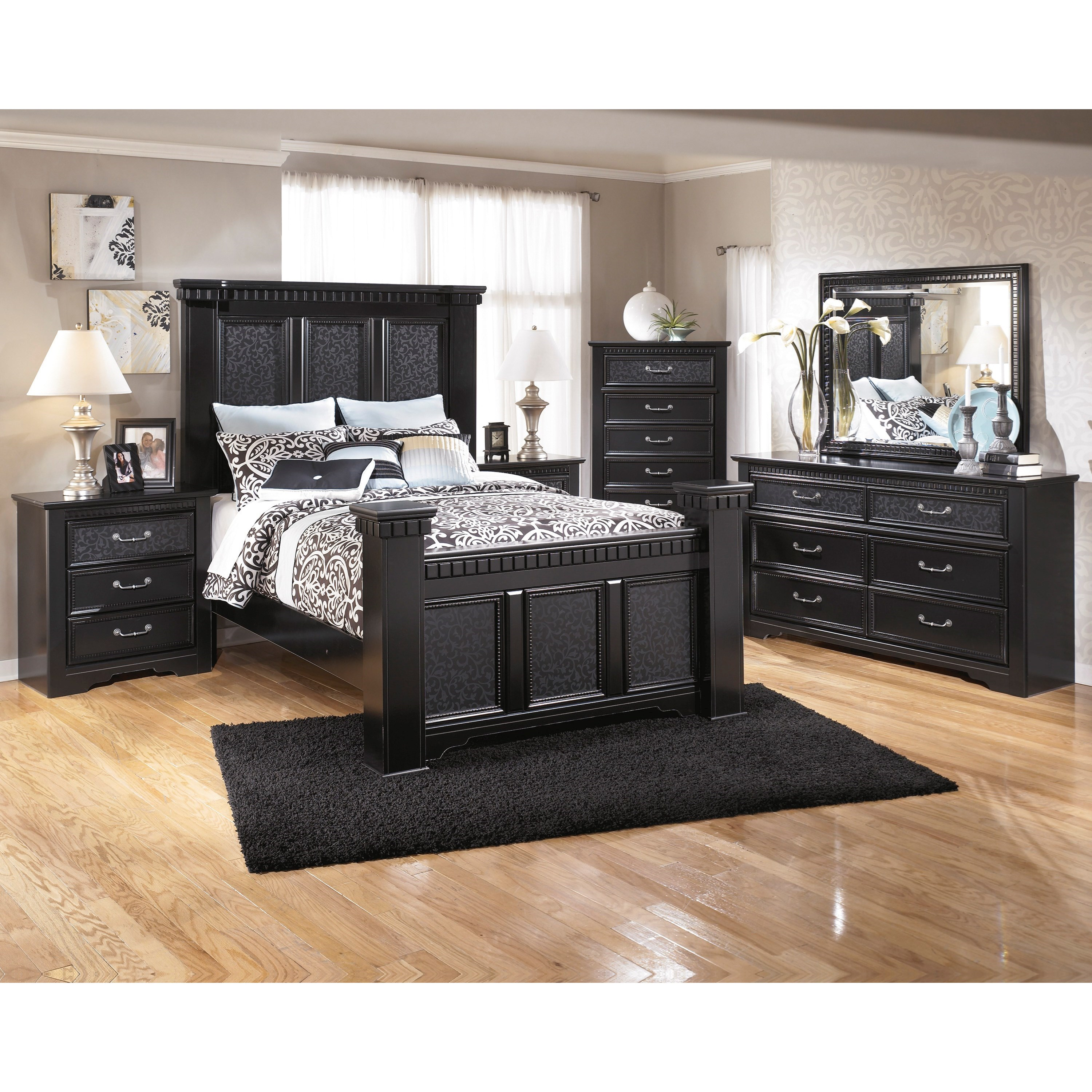 Signature Design by Ashley Cavallino Queen Bedroom Group - Item Number: B291 Q Bedroom Group 3