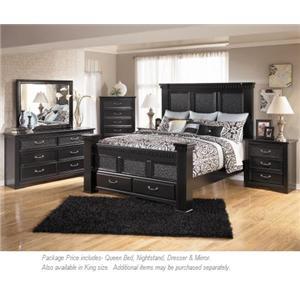 Signature Design by Ashley Cavallino 3PC Queen Bedroom - Miskelly ...