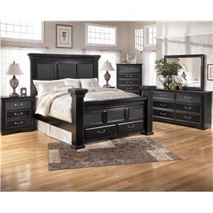 Signature Design by Ashley Furniture Cavallino King Bedroom Group