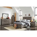 Signature Design by Ashley Cazenfeld Full Bedroom Group - Item Number: B227 F Bedroom Group 1
