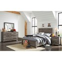 Signature Design by Ashley Cazenfeld Full Bedroom Group - Item Number: B227 F Bedroom Group 2