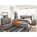 Signature Design by Ashley Cazenfeld King Bedroom Group - Item Number: B227 K Bedroom Group 3