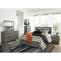 Signature Design by Ashley Cazenfeld Queen Bedroom Group - Item Number: B227 Q Bedroom Group 3