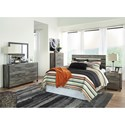 Signature Design by Ashley Cazenfeld Queen Bedroom Group - Item Number: B227 Q Bedroom Group 2
