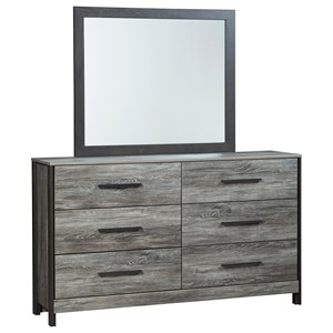 Signature Design by Ashley Cazenfeld Dresser & Bedroom Mirror