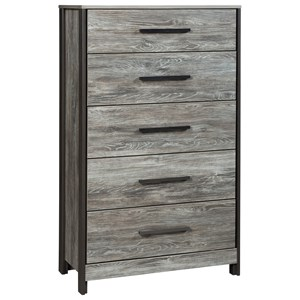 Signature Design by Ashley Cazenfeld Five Drawer Chest