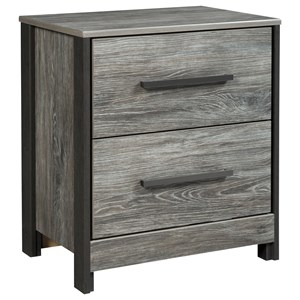 Signature Design by Ashley Cazenfeld Two Drawer Night Stand