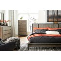 Signature Design by Ashley Cazentine California King Bedroom Group - Item Number: B579 CK Bedroom Group 3