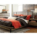 Signature Design by Ashley Cazentine King Platform Bed with Metal Accents  - Image Shown May Not Represent The Bed Size Indicated