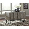 Signature Design by Ashley Cazentine Contemporary Accent Cabinet with Adjustable Shelves