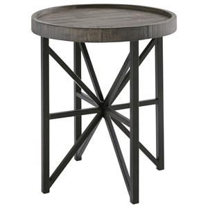 Signature Design by Ashley Cazentine Round End Table