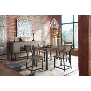 Signature Design by Ashley Cazentine Casual Dining Room Group