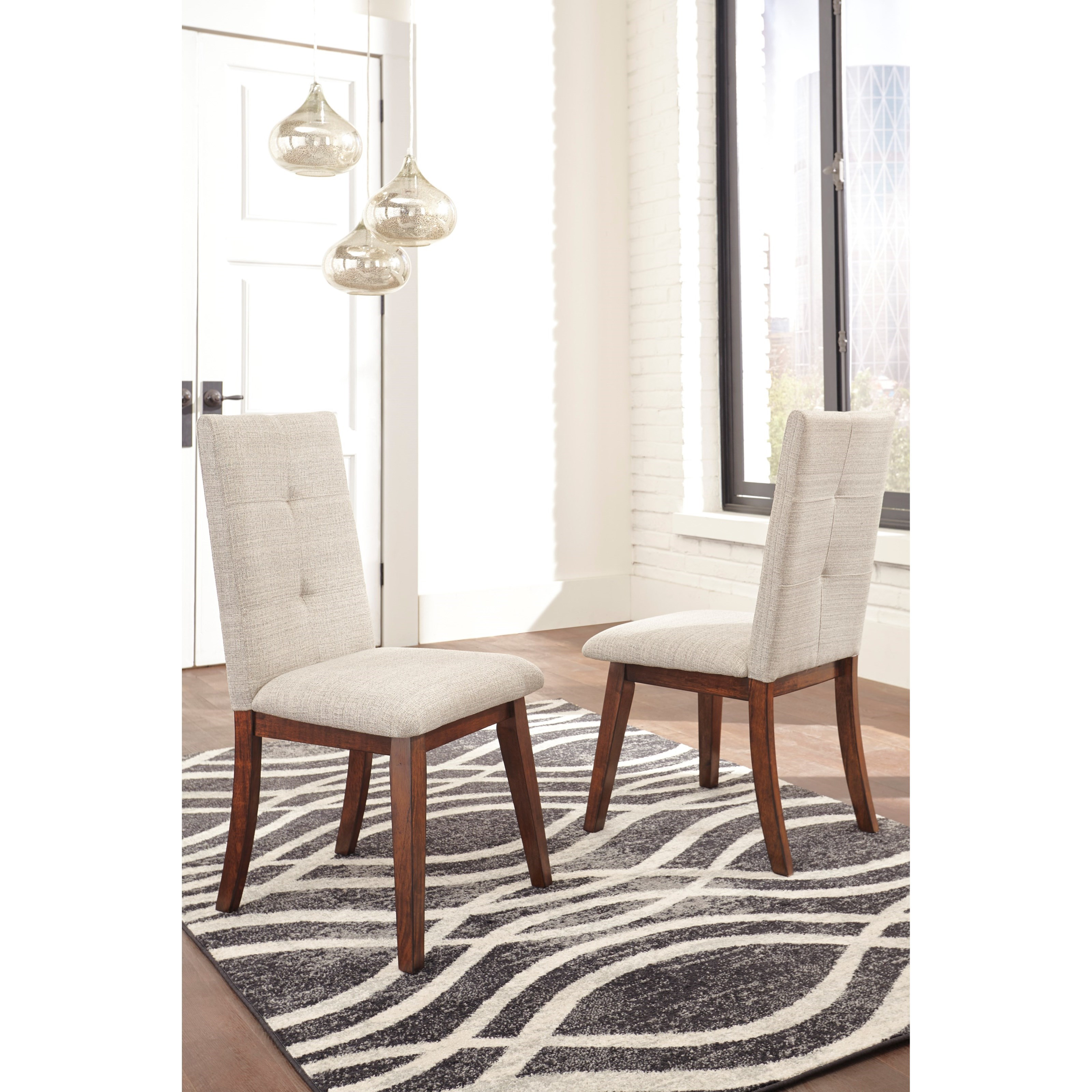 Signature Design by Ashley Centiar Dining Upholstered Side ...
