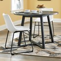 Signature Design by Ashley Centiar 3-Piece Round Dining Table Set - Item Number: D372-16+2x07