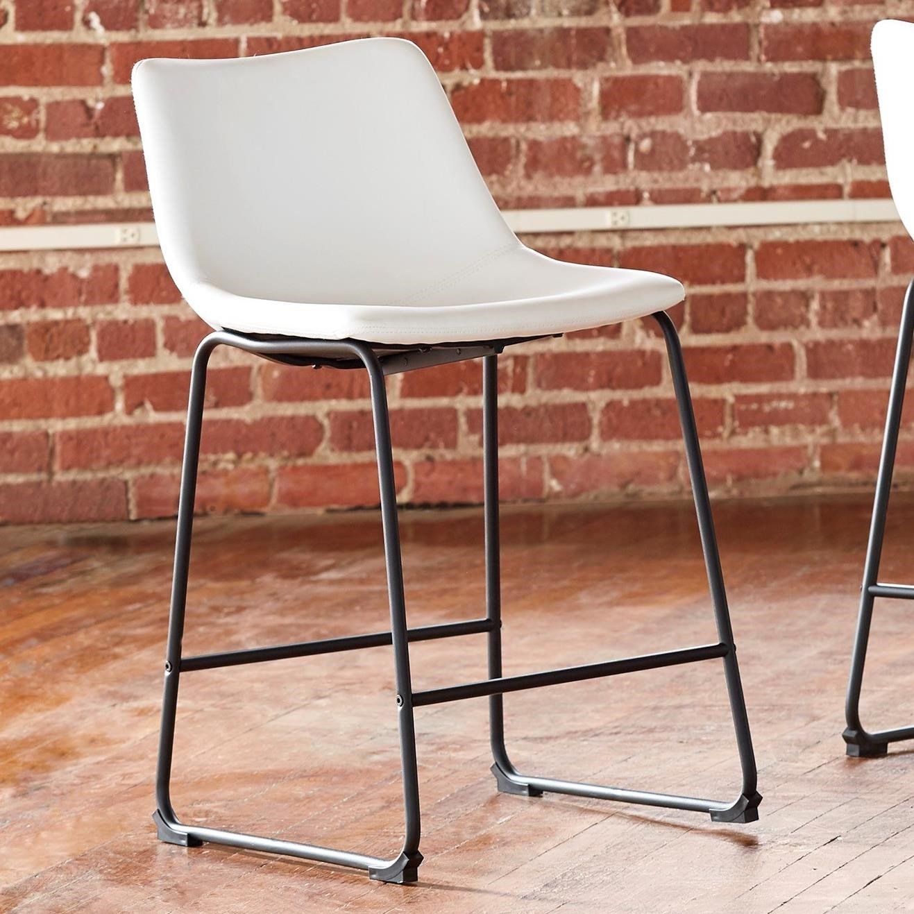 Centiar Upholstered Barstool by Ashley (Signature Design) at Johnny Janosik